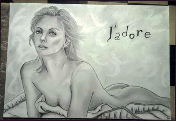 Charlize Theron by zabouchan